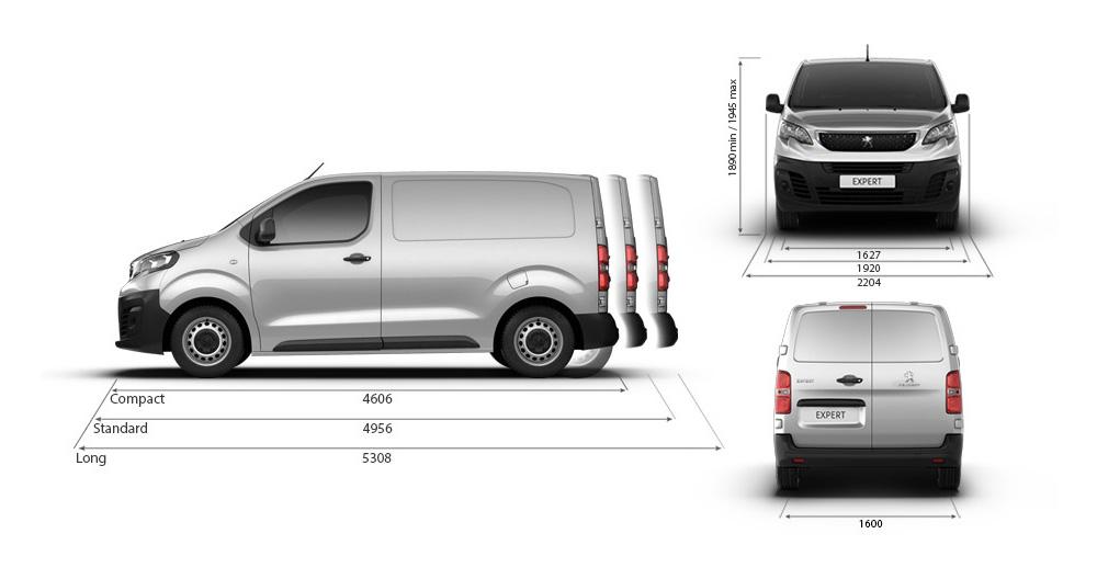 Il furgone per rispondere a tutte le tue esigenze professionali.
